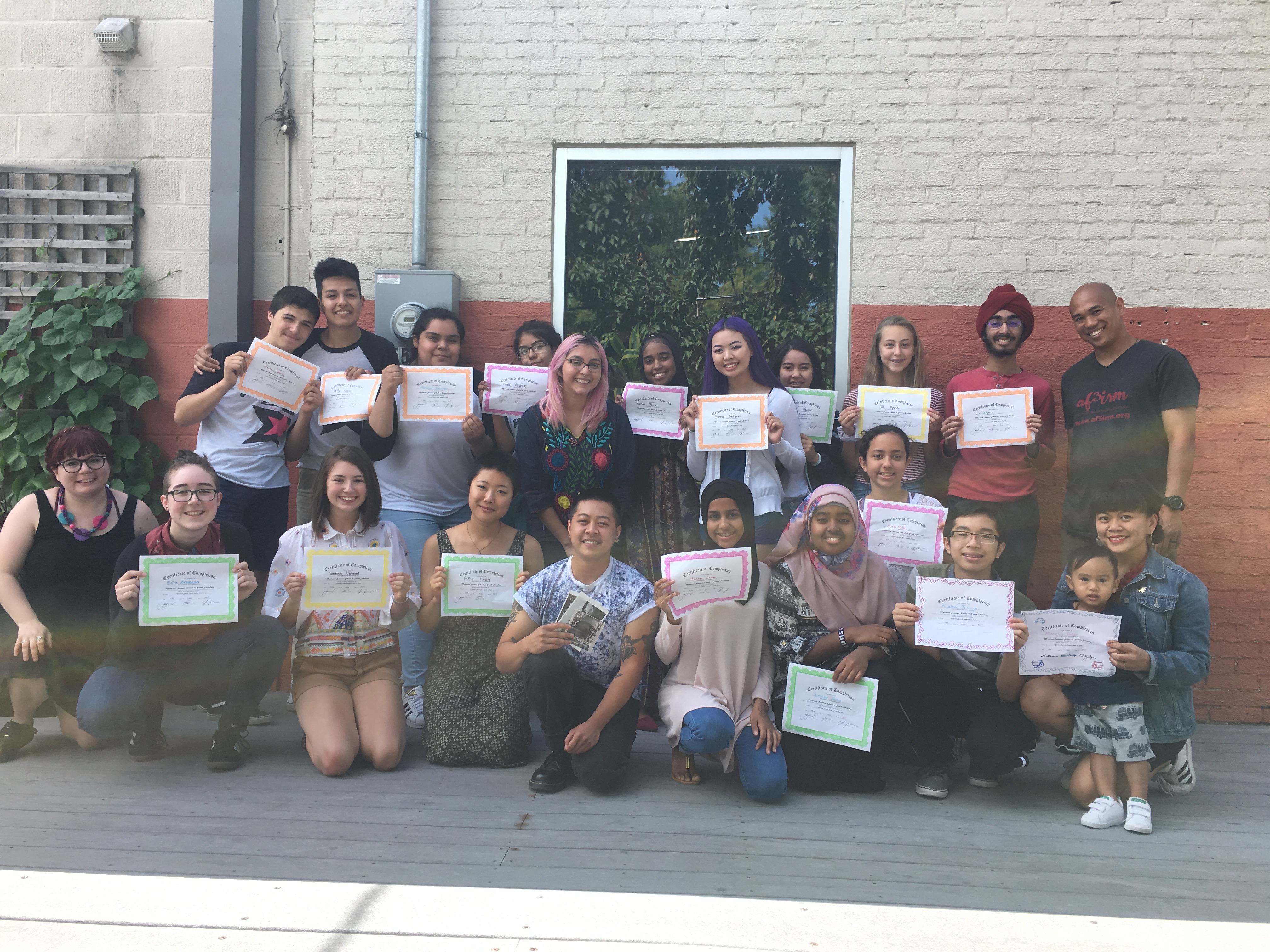 2017 Summer School of Youth Activism
