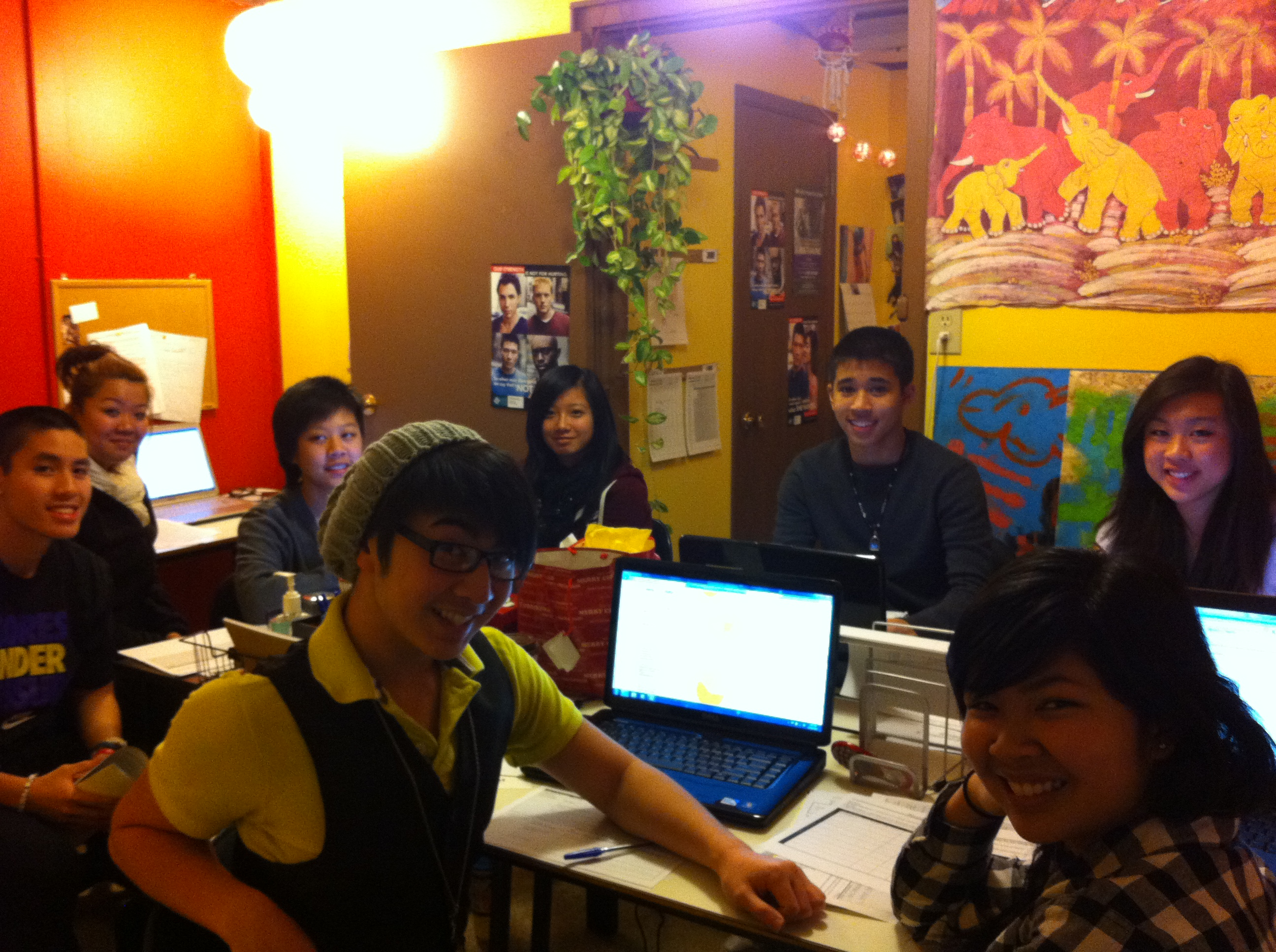 Youth Interns in 2011