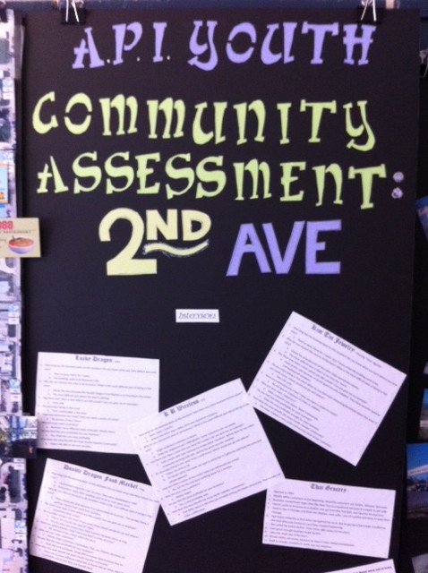 API Youth Community Assessment